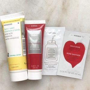 NWT Korres Product Bundle